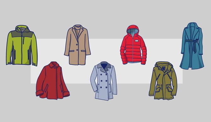 7 essential coat styles.