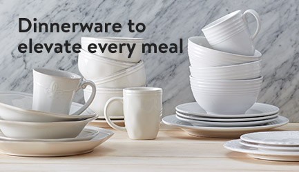 Dinnerware to elevate every meal