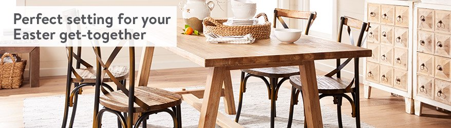 perfect setting for your easter get together - Kitchen Dining Chairs