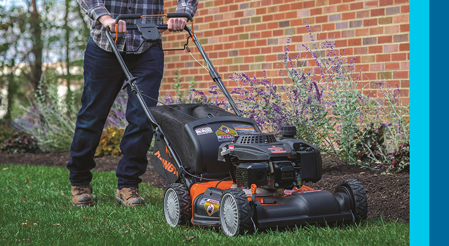 Mower power to him! Is dad the household handy man? Give him some outdoor equipment to help him with all his home projects.