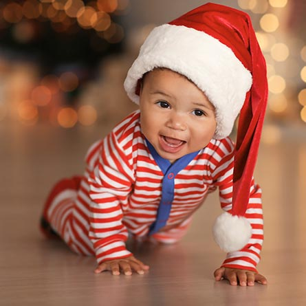 Celebrate Baby's first Christmas.