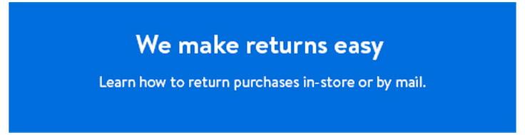 Free Returns Walmart Com Walmart Com