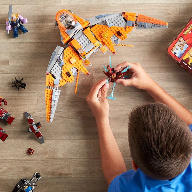 Boost their building skills with LEGO.