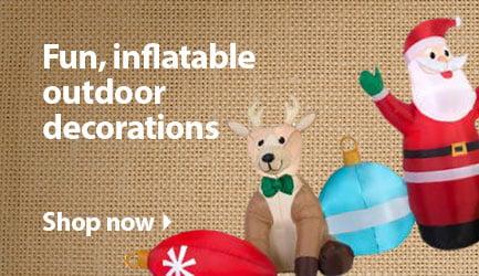 Shower Curtains christmas shower curtains walmart : Christmas Decorations – Walmart.com