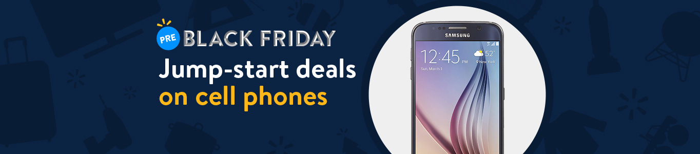 Shop Pre-Black Friday deals on cell phones!