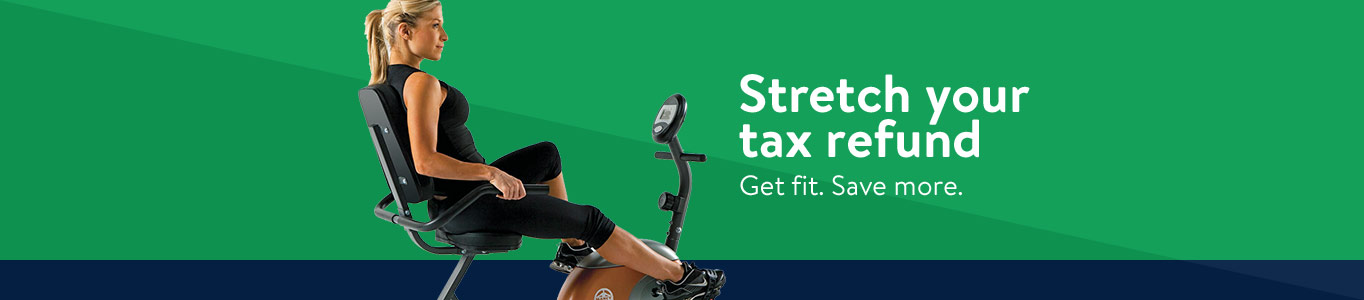 Stretch your tax refund. Get fit. Save more.