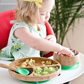 Toddler feeding Make mealtime fun with cute tableware.