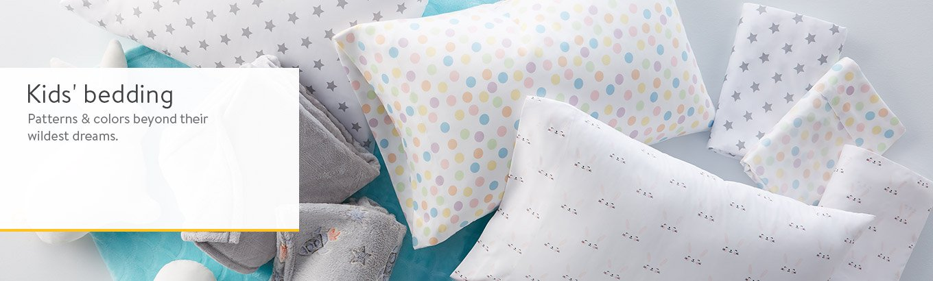Shop kids' bedding