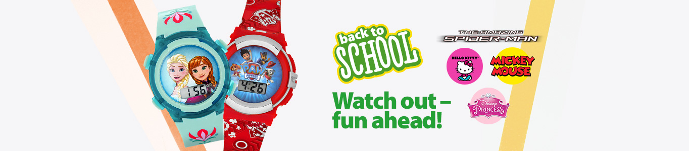 Back to school - Character watches