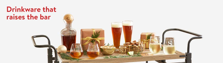 Shop personalized drinkware