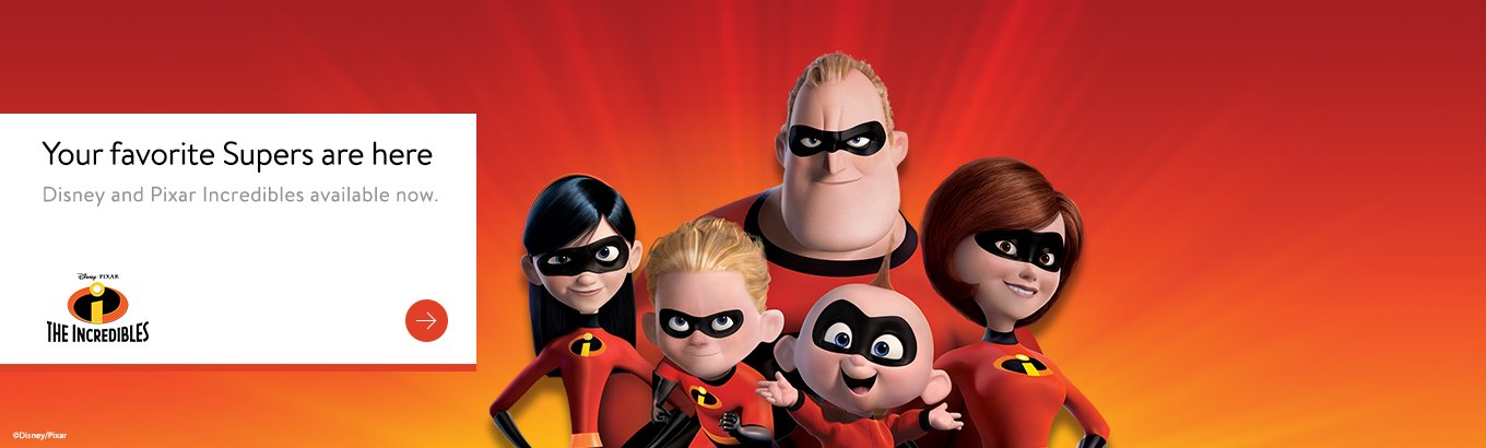 Shop The Incredibles