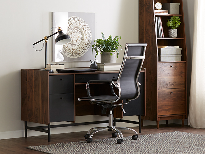 Find furniture for a small office.
