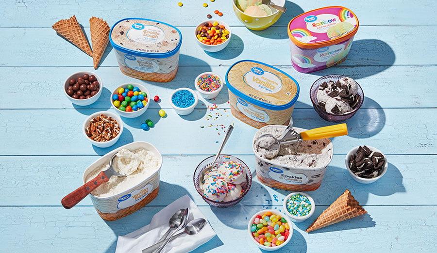 7 Mini Ice Cream Sundae in Mini Cup Dollhouse Miniatures Food Supply Deco