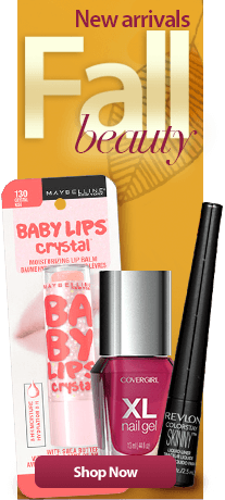 New arrivals fall beauty