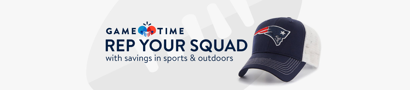 Rep your squad with savings in sports and outdoors