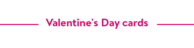 Shop Valentine's Day Cards