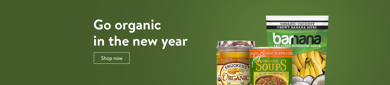 Go organic in the new year. Shop now.