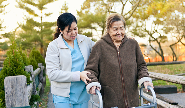 Helping with caregiver stress