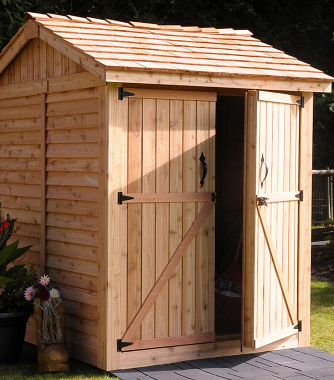 Wooden Storage Sheds