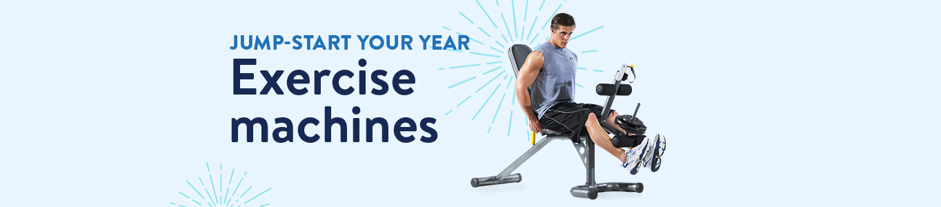 Jumpstart your year: Exercise machines
