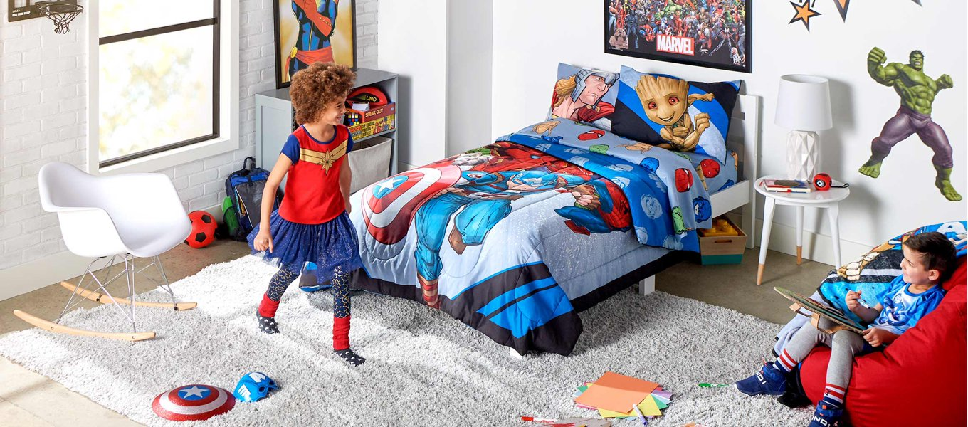 marvelous 10 year old bedroom ideas | Avengers Movies, Toys, Books, Clothing, and more
