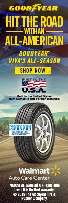 Goodyear - Hit the Road with an all-American. Shop Goodyear Viva 3 all-season tires.