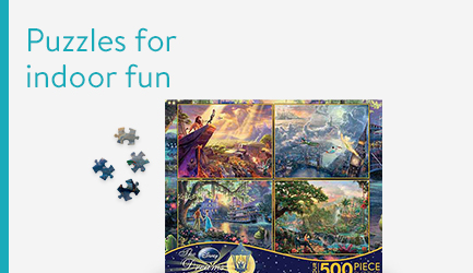 Puzzles for indoor fun