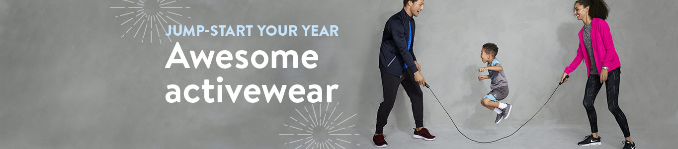 Jump-start your year: Awesome activewear