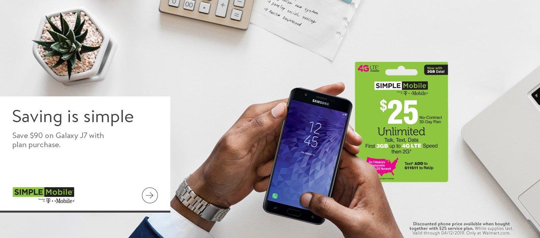 Simple Mobile Phones & Plans - Walmart com