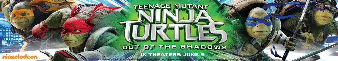 Teenage Mutant Ninja Turtles Out of the Shadows in theaters June 3