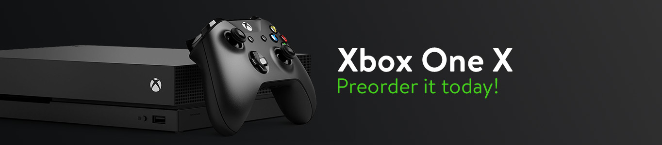 Preorder Xbox One X today!