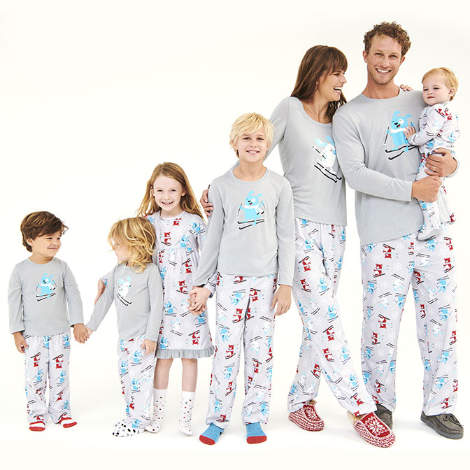 0e5468c39f Shop skiing dog PJs collection.