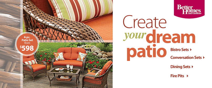 Create your dream patio
