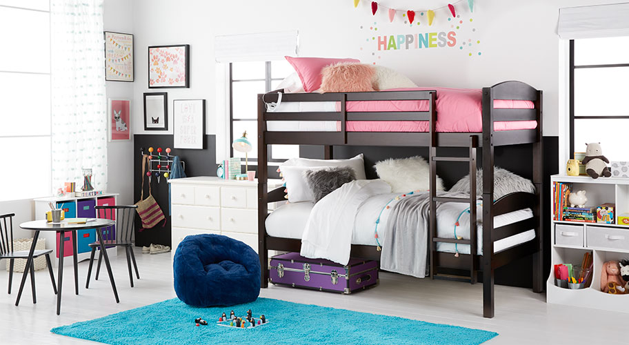 Fall Is The Perfect Time To Update Kidsu0027 Rooms For Slumber Parties