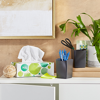 Go green with office supplies