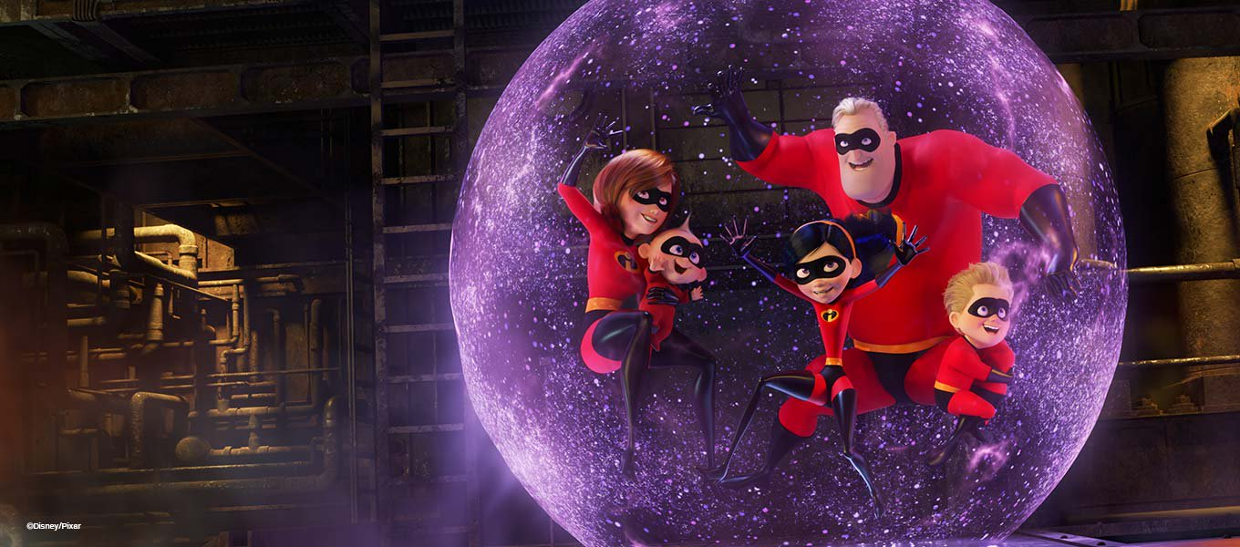 Super-Family Fun. Everything you need to be incredible!