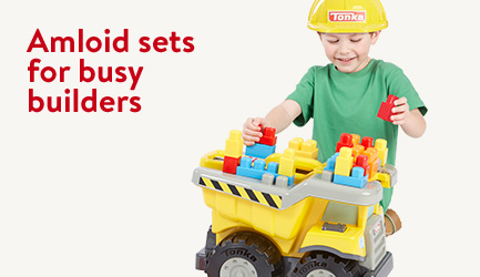 Amloid sets for busy builders