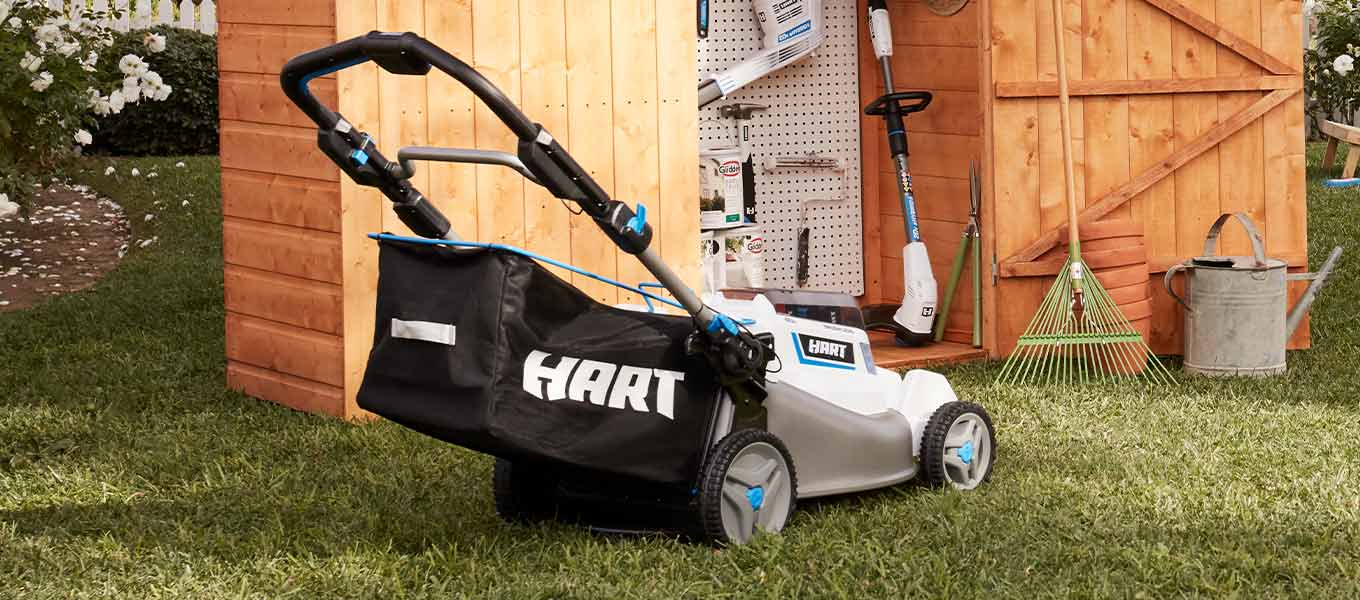 Lawn goals. Shop top mowers from HART, Murray, and more top brands.