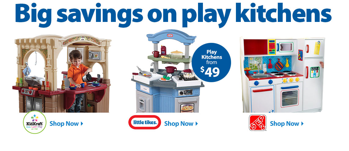 Kids' Play Kitchens