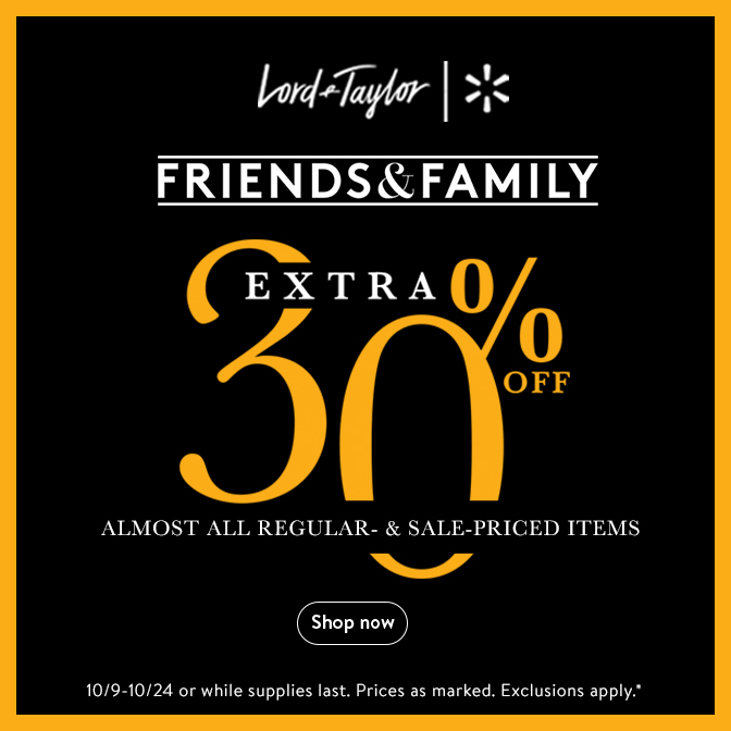 Premium brands from Lord & Taylor