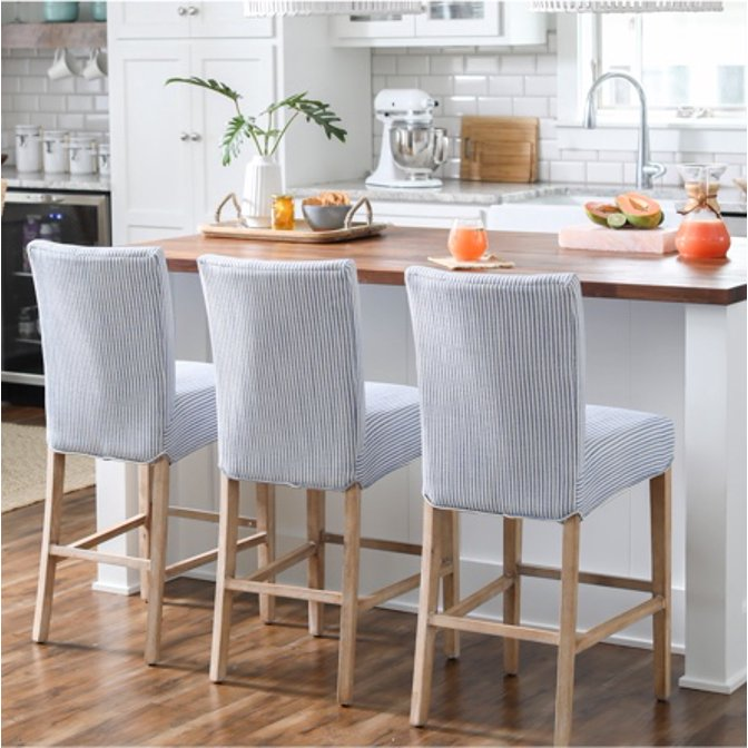 Bar Stool Ing Guide Com, Kitchen Island Chairs With Backs