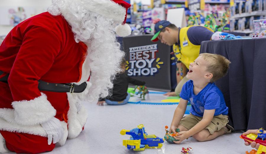Walmart in-store vvents