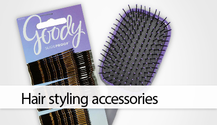 Shop hair styling accessories