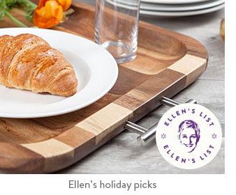 Ellen's holiday picks