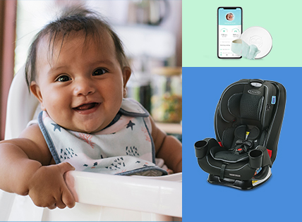 Baby safety month. Hurry to save on top products and more online and in stores. Ends September thirtieth. Shop now