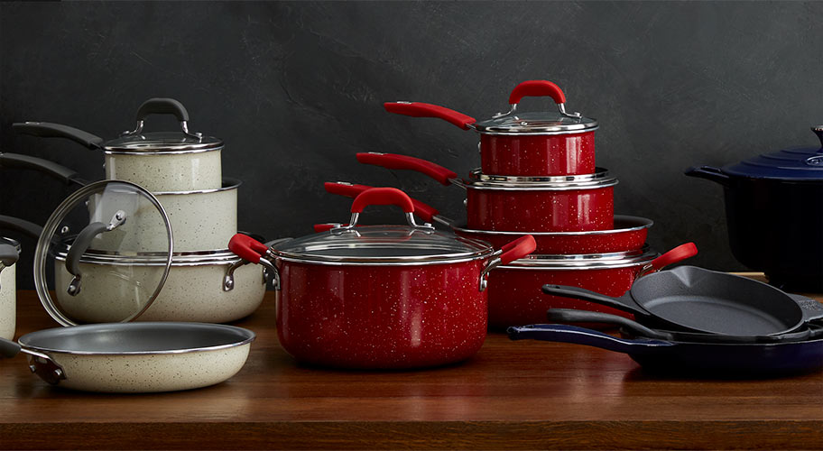 Save more. Cook better. Upgrade your kitchen with savings on cookware sets, stock pots, Dutch ovens plus essential tools and gadgets.