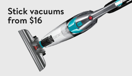 Stick vacuums from $16