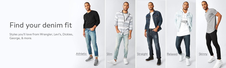 Mens Slim Jeans Walmart Com