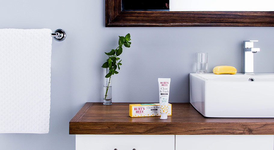 Burt's Bees toothpaste. New! Crafted with ingredients you can trust to leave your breath fresh & your enamel strong.