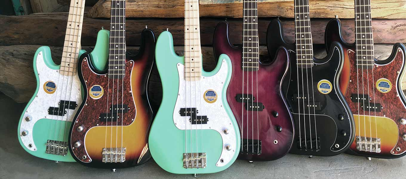 Electric Guitars. Choose the one that resonates with you.